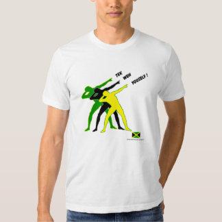 Londres 2012 Olimpiadas 100 metros sigue actitud Camiseta