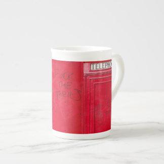 """Londres - cogida de la pintada del teléfono """"el x taza de té"""
