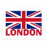 Londres en rojo postales