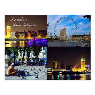 Londres hermoso, postal BRITÁNICA