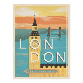 Londres - la milla cuadrada postal