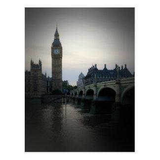 Londres - postal de Big Ben