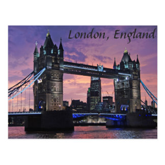 Londres, postal del puente de la torre