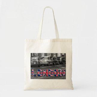 Londres taxi Tragetasche la bolsa de yute