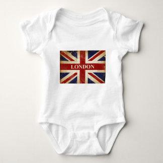 Londres - Union Jack - amor Londres de I Body Para Bebé