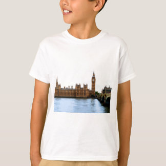 Londres - Westminster abstractos Camiseta