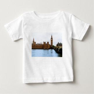 Londres - Westminster abstractos Camiseta De Bebé