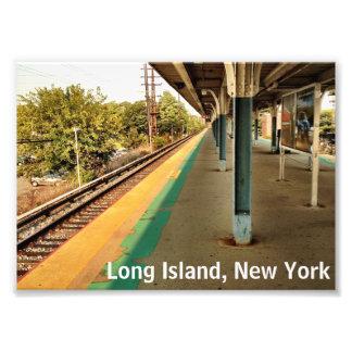 Long Island, impresión de la foto de Nueva York