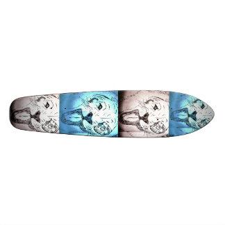 Longboard del arte pop tabla de skate