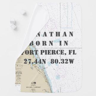 Longitud náutica de la latitud: Fort Pierce, la Mantita Para Bebé