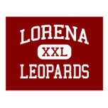 Lorena - leopardos - escuela secundaria - Lorena T Postal