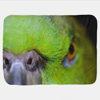 Loro Amarillo-Naped del Amazonas de Shirley Taylor Mantitas Para Bebé