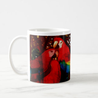Loros de la taza del Amazonas