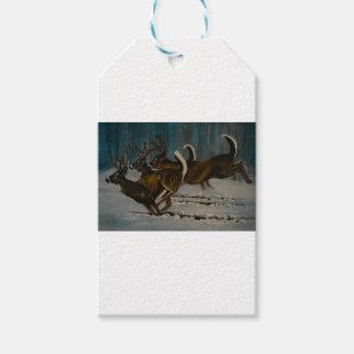 Los 3 ciervos etiquetas para regalos
