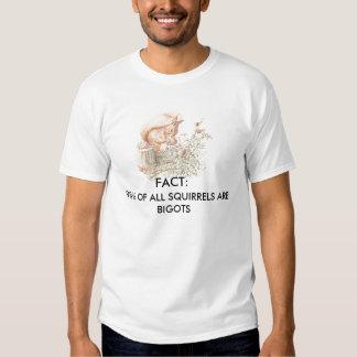 los 98% de todas las ardillas son fanáticos - camiseta