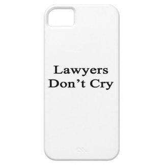 Los abogados no lloran