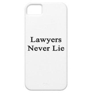 Los abogados nunca mienten iPhone 5 cárcasa
