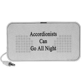 Los acordeonistas pueden ir toda la noche mini altavoz