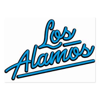 Los Alamos en ciánico Plantilla De Tarjeta De Visita