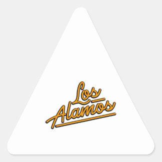 Los Alamos en naranja