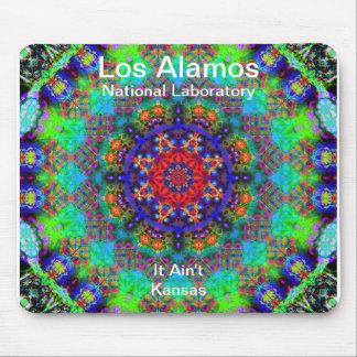 Los Alamos - jardín del vitral más allá del Sun Alfombrilla De Ratón