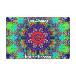 Los Alamos - jardín del vitral más allá del Sun Impresiones En Lienzo Estiradas