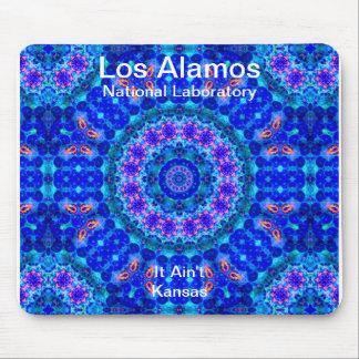 Los Alamos - laguna azul de ejes de la luz líquido Alfombrillas De Ratón