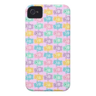 Los alegres osos bailarines de colores Case-Mate iPhone 4 protector