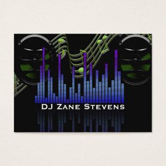 Los altavoces de DJ, personal de la música, Tarjeta De Negocios
