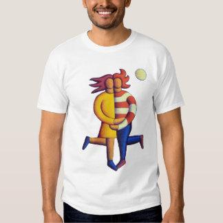 Los amantes por claro de luna camisetas