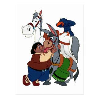 Los AMIGOS del Don Quijote - 400 años - Cervantes Postal