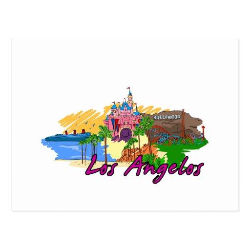 Los Ángel - California - USA.png Tarjetas Postales