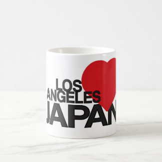 Los Ángeles ama Japón Taza