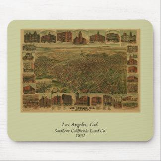 Los Ángeles CA 1891 Alfombrilla De Ratón