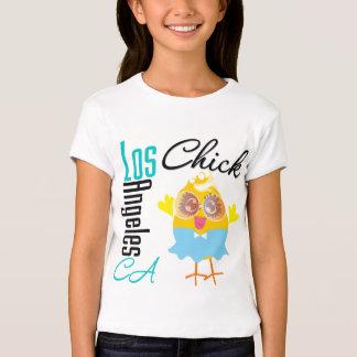 Los Ángeles CA Chick-3 Camisetas