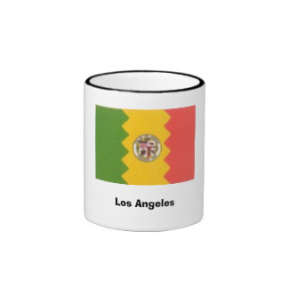 Los Ángeles, CA Taza De Dos Colores