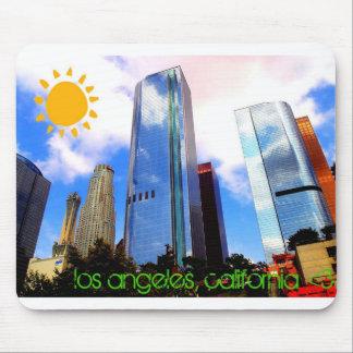Los Ángeles, California Alfombrilla De Ratón