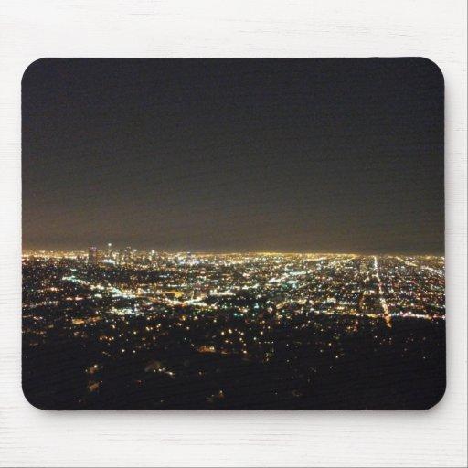 Los Ángeles California Alfombrillas De Ratón