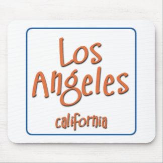 Los Ángeles California BlueBox Alfombrilla De Ratón