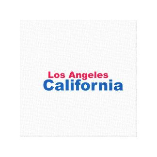 Los Ángeles, California envolvió la lona Impresiones En Lienzo Estiradas