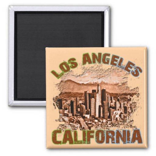 Los Ángeles, California Imán De Frigorífico