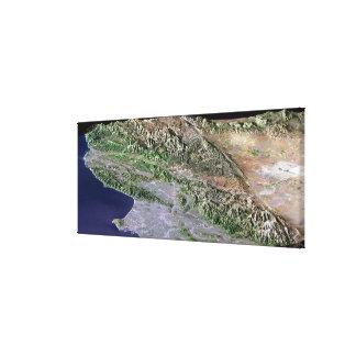 Los Ángeles, California Lona Envuelta Para Galerías