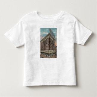 Los Ángeles, CAView del hotel Rosslyn Camiseta De Bebé