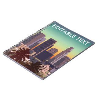 Los Ángeles céntrico - imagen adaptable Cuaderno