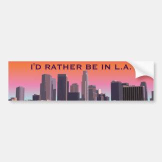 Los Ángeles céntrico - imagen adaptable Pegatina Para Coche