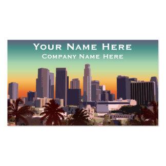 Los Ángeles céntrico - imagen adaptable Tarjetas De Visita