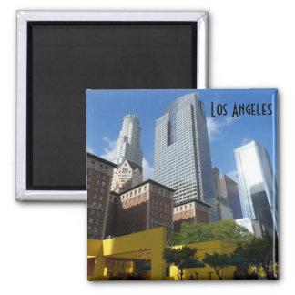 Los Ángeles céntrico Imán Cuadrado