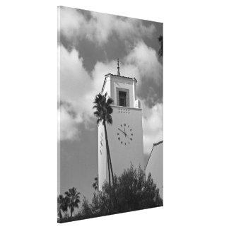 Los Ángeles céntrico Impresión De Lienzo