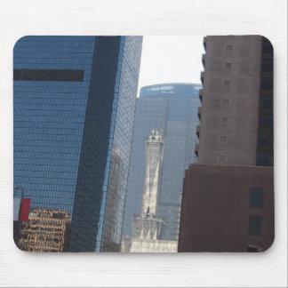 Los Ángeles céntrico Mousepad Alfombrillas De Ratón