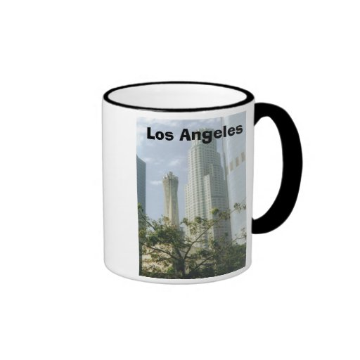 Los Ángeles céntrico Tazas De Café